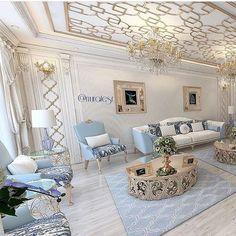 House Design, Luxury Living Room, Luxury Dining Room, Luxury Homes Interior, Luxury Living, House Interior, Sitting Room Design, Sitting Room Interior Design, Living Decor