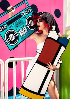 Real-Life Paper Doll with 9 Paper Cutouts Inspired by Iconic Fashion Designs