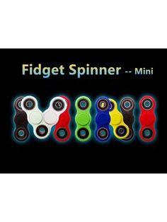 Fidget Spinner - mini  DK's billigste - dag til dag levering i DK  Rigtig godt legetøj til alle aldre - kan bruges til afstressning, tricks eller blot til at holde hænderne beskæftigede