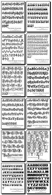 Free alphabet