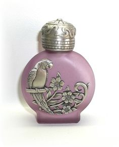 Parrot Tropical Bird Perfume Oil Bottle Jonette  by dollherup