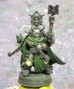 Black Templar Space Marine Chaplain conversion