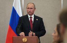 Путин: Трамп - не невеста, чтобы в нем разочаровываться   Политика   5 сентября, 10:35 дата обновления: 5 сентября, 11:31 UTC+3   Подробнее на ТАСС:   http://tass.ru/politika/4532551