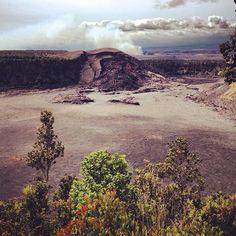 volcano crater hawaii Photo by @Jonathan Lo / happymundane on Instagram