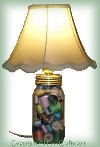 Canning Jar Lamp
