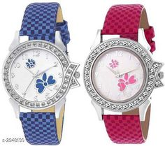 Watches  Leather Women's Watches (Pack Of 2 ) Material: Leather  Size: Free Size Type: Analog Description: It Has 2 Pieces Of  Women's Watches Country of Origin: India Sizes Available: Free Size   Catalog Rating: ★4.1 (476)  Catalog Name: ⚡Stylish Leather Women's Watches Combo Vol 15 CatalogID_401825 C72-SC1087 Code: 942-2948130-