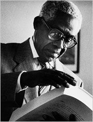 "Aimé Césaire  In Paris in the 1930s he helped found the journal Black Student, which gave birth to the idea of ""negritude,"" a call to blacks to cultivate pride in their heritage. His 1950 book ""Discourse on Colonialism"" was considered a classic of French political literature."