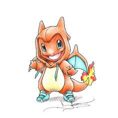 "Pokemon Coloring Pages Charmeleon Best Of when I Grow Up"" Charmander In A Charizard Onesie Pokemon Tattoo, Pokemon Fan Art, Gif Pokemon, Pokemon Sketch, Cool Pokemon, Charmander Tattoo, Baby Pokemon, Pokemon Charmander, Pikachu Art"