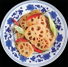 #Lotus is a delicious #Chinese vegetable that tastes delicious with chillies