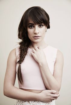 Lea Michele at the Fox 2015 Television Critics Association Summer Press Tour Portraits!