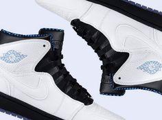 "Air Jordan 1 Retro '94 ""Powder Blue"" @razorshavin razor-shavin.blog.pl !!"