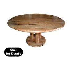 """Yanchep""8 Seat Round Marri Dining Table"
