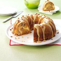 William Tell's Never-Miss Apple Cake Recipe from Taste of Home