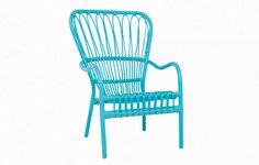Royal Blue Lounge Chair