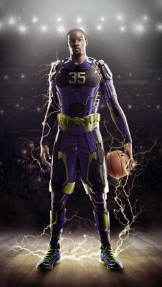 This season like last, Nike Basketball is reworking Kobe Bryant, LeBron James and Kevin Durant's signature models for the NBA Playoffs. Nike Basketball, Kevin Durant Basketball, Basketball Is Life, Basketball Players, Basketball Boyfriend, Basketball Signs, Curry Basketball, Basketball Quotes, College Basketball