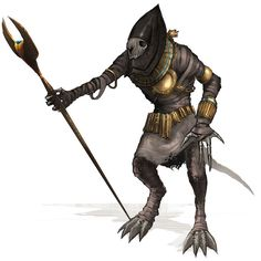 Monster Design from Guild Wars Nightfall