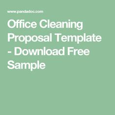 Cleanliness is next to godliness. Use this free office cleaning proposal template to inform your clients of your experienced cleaning services. Office Cleaning, Cleaning Business, Cleaning Hacks, Janitorial Cleaning Services, Cleaning Contracts, Proposal Letter, Crockpot Dishes, Business Proposal, Proposal Templates