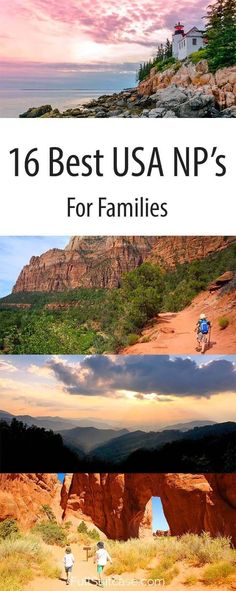 Best USA National Parks to visit for families with kids #nationalparks #familytravel #familyvacation
