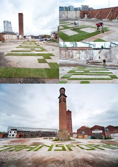 Holbeck Urban Village — 32 Metre Type Installation