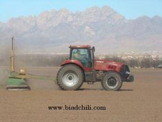 Prepping the fields for planting the 2013 chile crop!