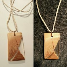 #necklace #jewelry #woodresin #woodandresin #wood #resin #natural #mine #seethrough #ajdeja