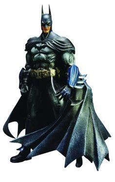 Square Enix Batman: Arkham Asylum Play Arts Kai: Batman Action Figure