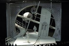 Here& a great example of things you could do for a creative career- scenic .Here& a great example of things you could do for a creative career- scenic design! Rosenthal was trained at Yale in set design and lig. Design Set, Stage Set Design, Set Design Theatre, Design Model, Set Theatre, Dark Fantasy Art, Scenography Theatre, Theater, Royal Ballet