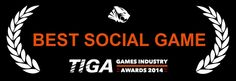 Cloud Chamber won the Best Social Game 2014 award!