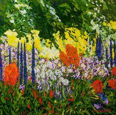 "Saatchi Online Artist: Allan P Friedlander; Acrylic Painting ""Under the Branch (Original Sold/Prints Available)"""