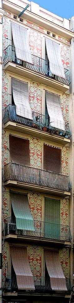 Barcelona - Casa J. Filella 1905 Architect: Josep Déu i Busquets