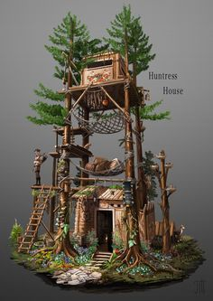 ArtStation - Swiss based Fantasy Architecture, Pascal Heinzelmann