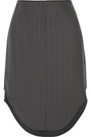 rag & boneMadison layered striped silk skirt
