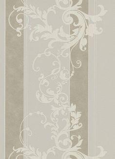 Erismann Myself non-woven wallpaper 6858-38 685838 stripes baroque beige cream Wallpaper Brands Erismann Myself