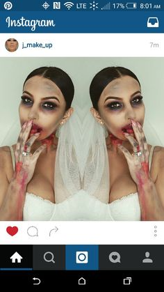 10 Creative and Spooky Halloween Makeup Ideas