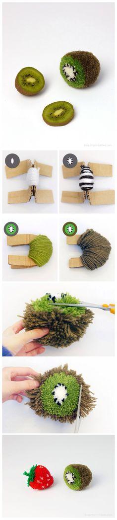 ♥ DIY... Inspiring Pom Pom Art ♥