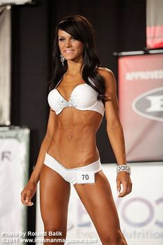 she is my complete inspiration to do a competition. not too much muscle. still looks like a lady ;-)