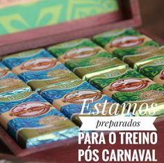 Estamos preparados para o Treino Pós Carnaval. 💪😉 #depoisdocarnaval #cuidardasaude #reporasenergias #chocolatesjupara
