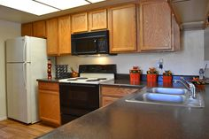 Look at all that counter space you could have in your new apartment home at Aztec Springs Apartments in Mesa, AZ.