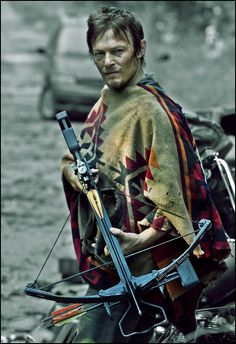 rockin the poncho, Daryl