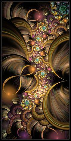 Wallpaper computer art deviantart Ideas for 2019 Fractal Design, Fractal Images, Fractal Art, Fractal Geometry, Colorful Wallpaper, Psychedelic Art, Art Pictures, Amazing Art, Fantasy Art