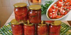 Asa faci cei mai buni Ardei capia copți la borcan Salsa, Jar, Food, Sweets, Essen, Salsa Music, Meals, Yemek, Jars