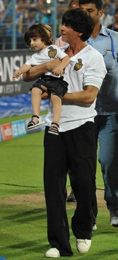 AbRam, 8 April 2015 at his first IPL match