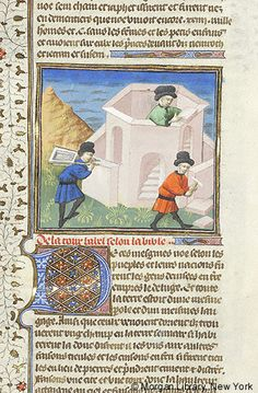Bible Historiale, MS M.394 fol. 13r - Images from Medieval and Renaissance Manuscripts - The Morgan Library & Museum