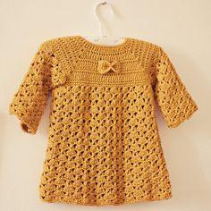 Instant download  Dress Crochet PATTERN pdf file door monpetitviolon