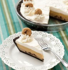 Cookie Dough Cream Pie  - Delish.com