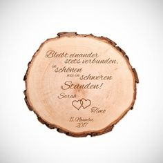 Baumscheibe mit Gravur zur Hochzeit mit Spruch - Bleibt einander Best Picture For simple wedding parties For Your Taste You are looking for something, and it is going to tell you exactly what you are Birthday Party For Teens, Teen Birthday, Birthday Presents, Coffee Desk, Tree Slices, Birthday Design, Simple Weddings, Plexus Products, Birthday Decorations