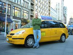 """Cash Cab"" - A great TV show for several years - actor Christopher Meloni used the pseudonym ""Ben Bailey"" when he drove the cab & asked the passengers questions & they could earn money w/the right answers - ""Jeopardy"" on wheels! It won several awards over the years."