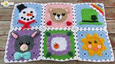 How to Join Your Calendar Blanket Squares - YouTube