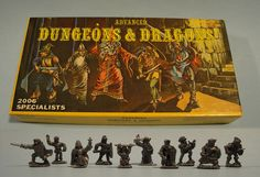 Advanced Dungeons and Dragons Miniatures.