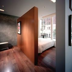 False Wall Bedroom Design Ideas, Pictures, Remodel and Decor